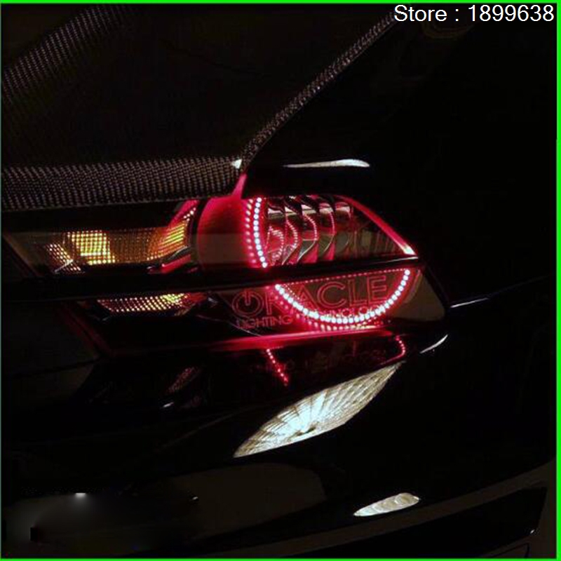 for ford mustang 2010 2011 2012 LED perimeter headlight rings halo Multi-color RGB angel demon eyes canon ixus 180