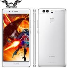 Оригинал huawei p9 4g lte мобильный телефон 3 ГБ ram 32 ГБ rom 5.2 inch Kirin955 Octa Core Dual Задняя 12MP Камера Отпечатков Пальцев Android 6.0