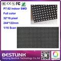 P7.62 светодиодный модуль 32*16 пикселей 244*122 мм 16 сканирования rgn светодиодные панели для крытый полноцветный светодиодный экран этапе светодиодная вывеска рекламного щита