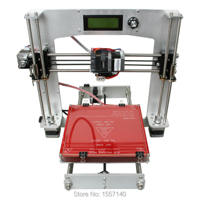 Full Aluminum i3 3D Printer DIY KIT MK8 extruder 200 x 200 x 180mm Print 5 Types 3D Filament LCD panel shipping from russian i3 flsun 3d printer autolevel 3d printer large size dual extruder diy printer 2 rolls filament for gift