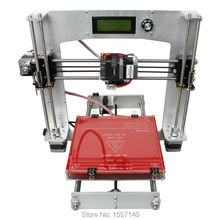 Full Aluminum i3 3D Printer DIY KIT MK8 extruder 200 x 200 x 180mm Print 5 Types 3D Filament LCD panel