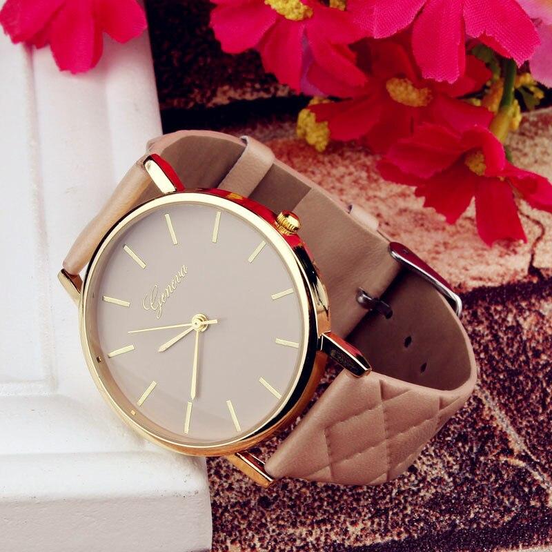 1PC Fashion New Leather watch women lady dress watch women's Casual  quartz-watch Analog wristwatch Gifts relogios feminino