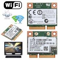 Dual Band 2.4 + 5G 300M 802.11a/b/g/n Wi-fi Sem Fio Bluetooth 4.0 Metade mini PCI-E Cartão Para HP SPS 718451-001 BCM943228HMB