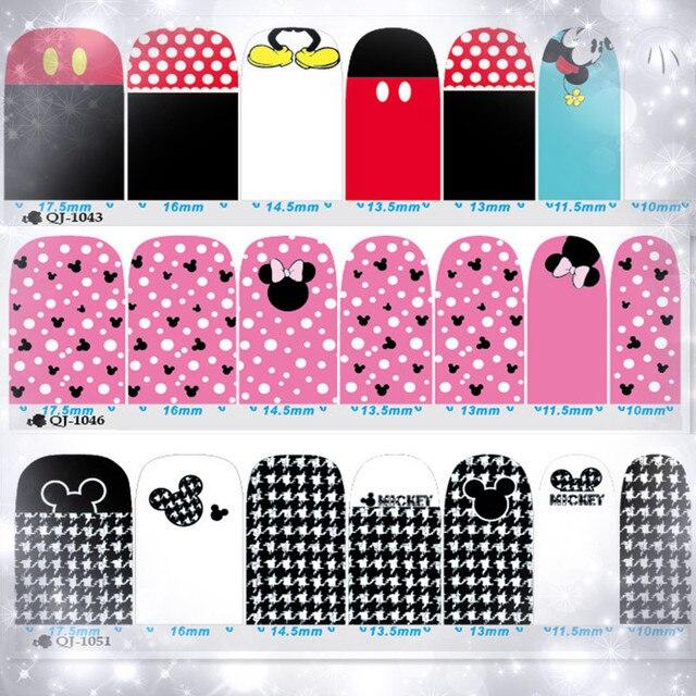 Aliexpress.com: Comprar Mickey Minnie Mouse Pegatinas En Las Uñas Y ...