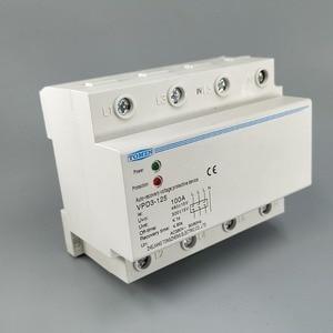Image 1 - Relais de protection sur tension et sous tension automatique, 100a 380V triphasé à quatre fils Din rail