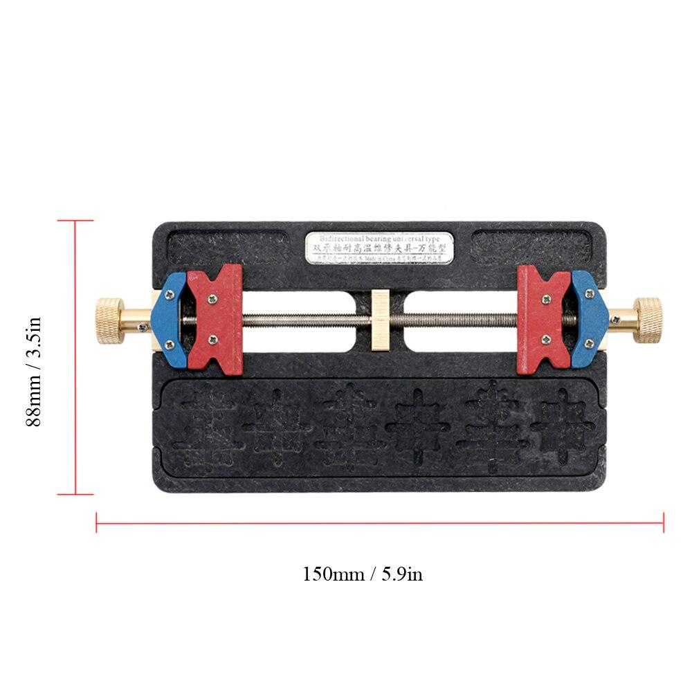 Multifunctional Universal High Temperature Resistance Mobile Phone Motherboard Double Bearing Maintenance Fixture Jig