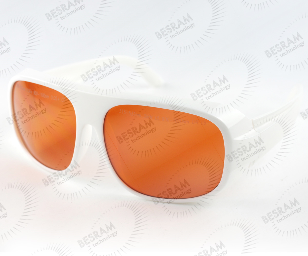 Laserland LP-GTY-52 200nm-532nm OD6+ 900n-1100nm OD5+ Laser Protective Goggles Safety Glasses 52#