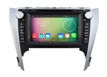 Quad Core 1024*600 Android 5.1.1 Car DVD Player for Toyota Camry 2014 2013 2012 with GPS BT Wifi Radio