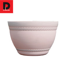 Dehomy 15*10CM FlowerPot Colorful Bowl Type Resin Flower Pots Multi-flower Pot Simple Creative Flower Pot Without Tray Flowerpo