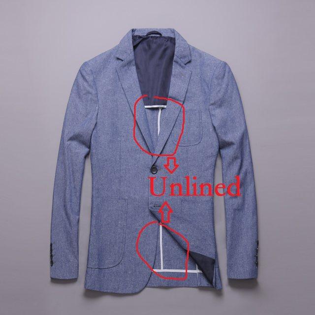 Online Shop Unlined Linen Suits Men 2018 Slim Fit 2 Piece Wedding ...