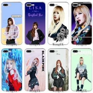 kpop BLACKPINK lisa pretty girl Slim silicone TPU Soft phone case For Xiaomi Redmi 3 3s 4 4A 4x 5 plus pro Note 3 4 5 5A