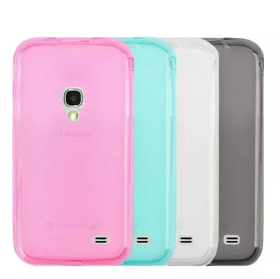 TPU Case Soft Back Cover For Samsung GALAXY Beam 2 G3858 Silicone New In Fitted Cases From Cellphones