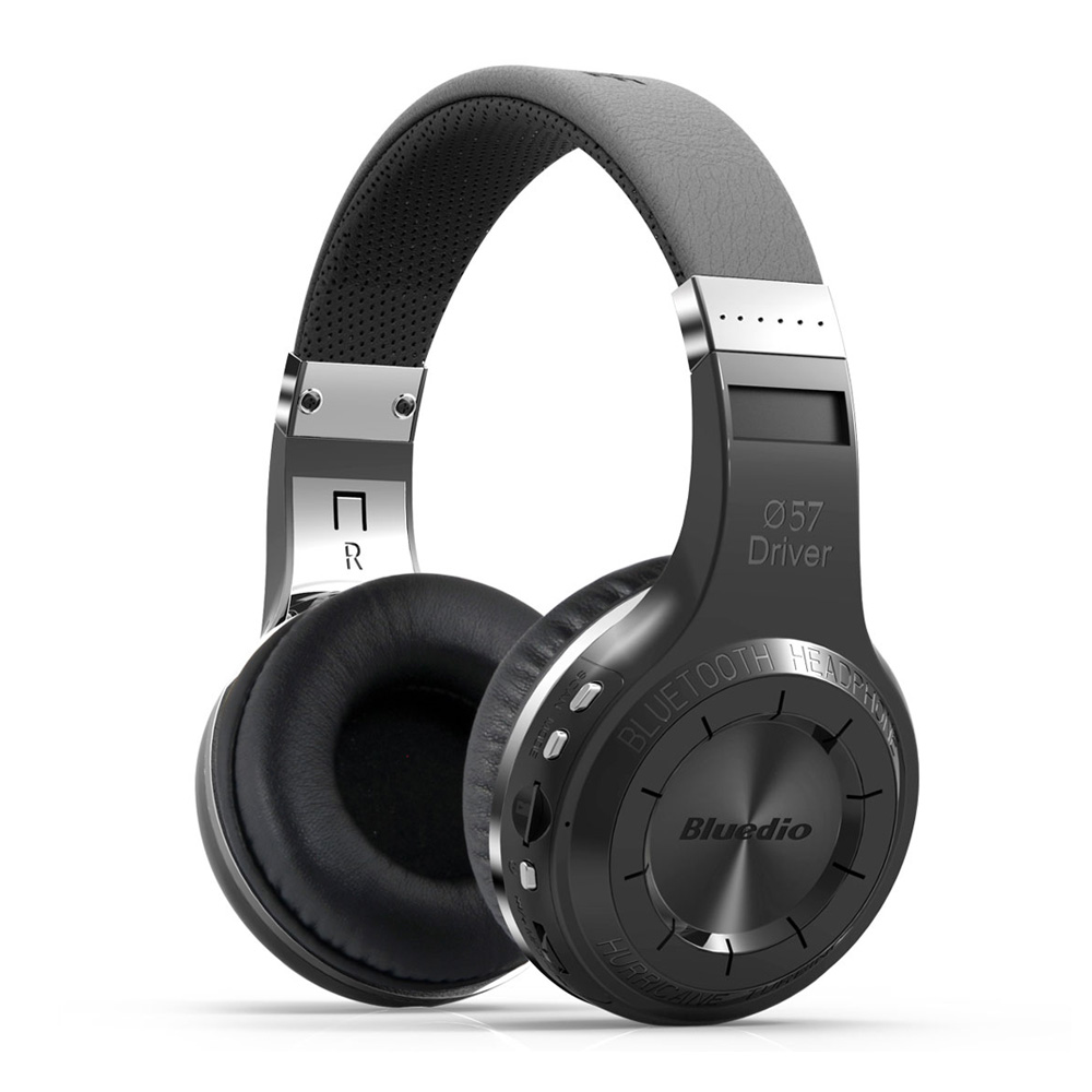 Bluedio H+ Bluetooth Stereo Wireless headphones Built-in Mic Micro-SD/FM Radio BT4.1 Over-ear headphones bluedio h super bass stereo wireless bluetooth 4 1 headphones headset with mic handsfree micro sd card fm radio