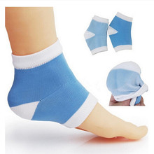 1 Pair Gel Heel Sock Moisturing Spa Feet Care Product for Cr
