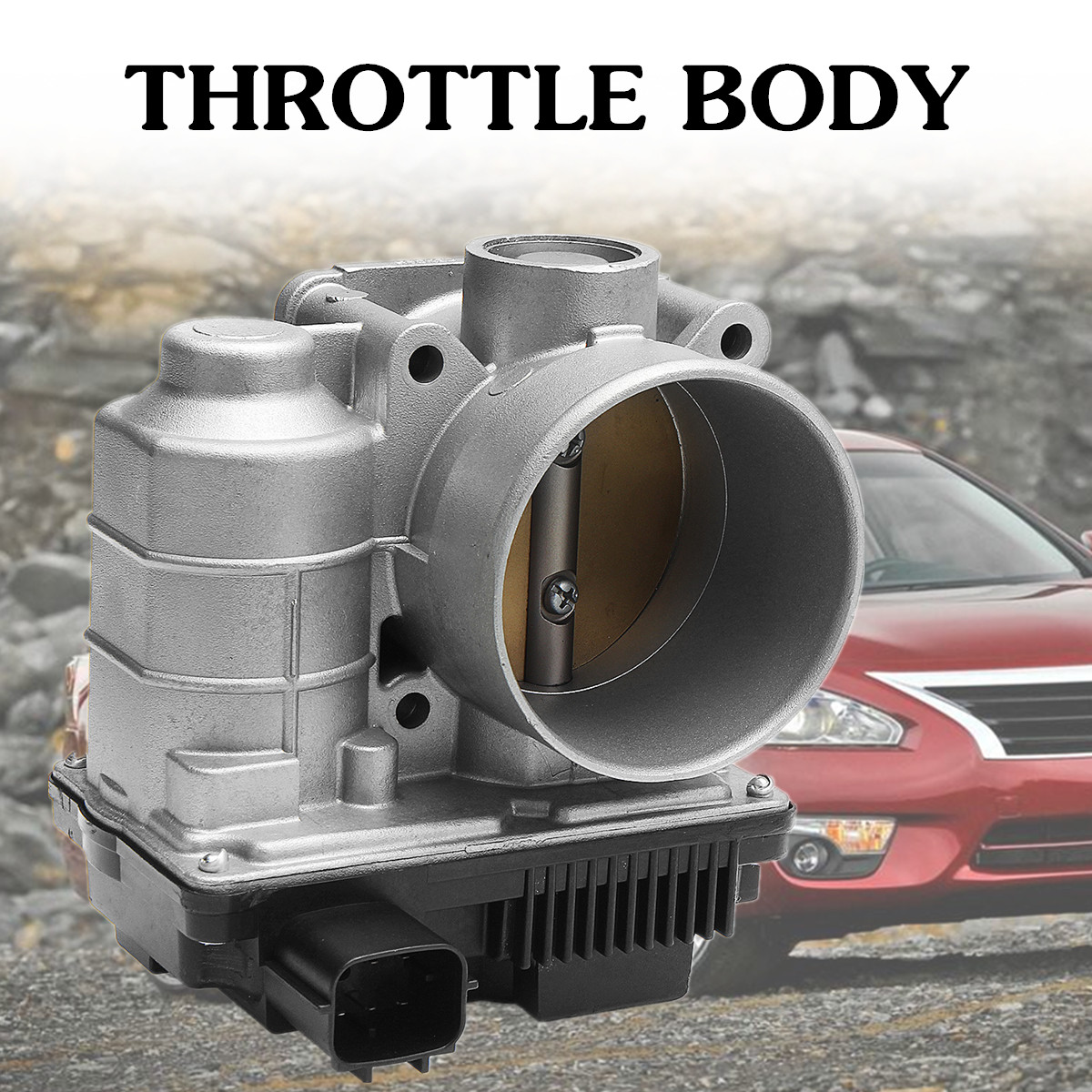 Throttle Valve Body with Sensors 16119-AE013 Fits for Nissan Sentra Altima 2.5L Grey 12x9x13cm Meets/Exceeds O.E.M Performance 60mm fuel injection throttle body for 2002 2006 nissan altima sentra 2 5l qr25de