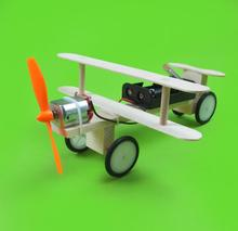 Electric taxi aircraft DIY science and technology small inventions scientific experiments popular toys