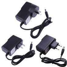 ALLOYSEED Negative Pole 9V 300mA EU US AU AC to DC Power Adapter Converter 5.5*2.5mm Center Negative Pole of 5.5*2.1mm Plug