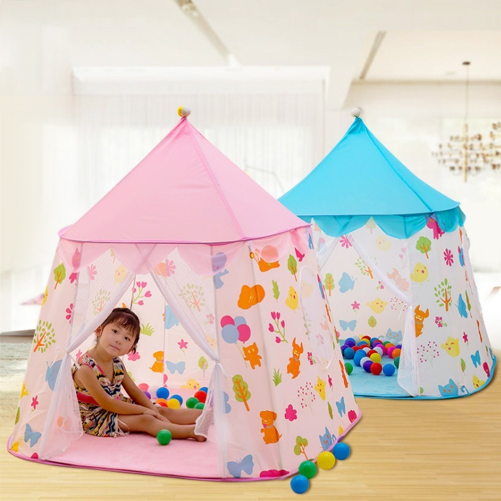 Portable Princess Tent Present Children Indoor Teepee Tent For Kids Baby Play House Tipi Enfant Ball Playhouse Tenda InfantilPortable Princess Tent Present Children Indoor Teepee Tent For Kids Baby Play House Tipi Enfant Ball Playhouse Tenda Infantil
