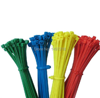 Free shipping Multifunction 500 pcs/lot 3.6*300mm Self locking Plastic Nylon Cable Ties,Wire management Zip Ties