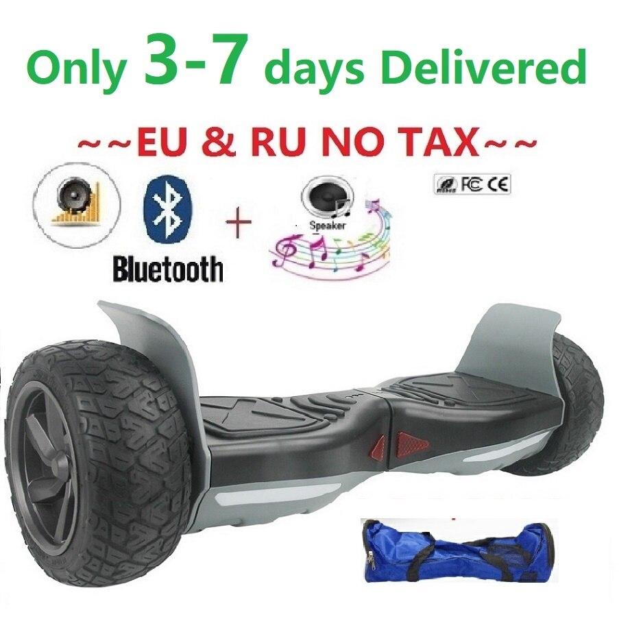 Hoverboard scooter Elettrico batteria Samsung Pattino Elettrico equilibrio ruota hover bordo giroskuter in mare e di scooter