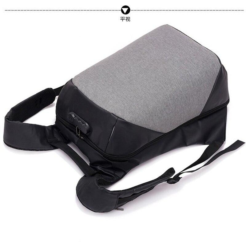 USB Charging Male Anti Theft Backpack Large Capacity Laptop Multifunction Waterproof Travel Duffel School Bags Men Backpack 50