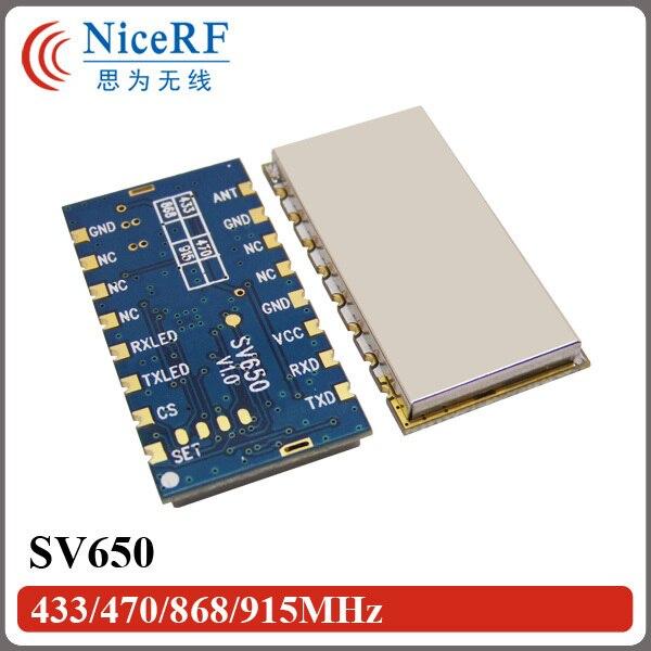 2 шт./лот SV650 TTL 433 МГц Embeded 3 км Long Distance Беспроводной Цифровой Модуль Приемопередатчика Для Безопасности Системы Дистанционного Управления