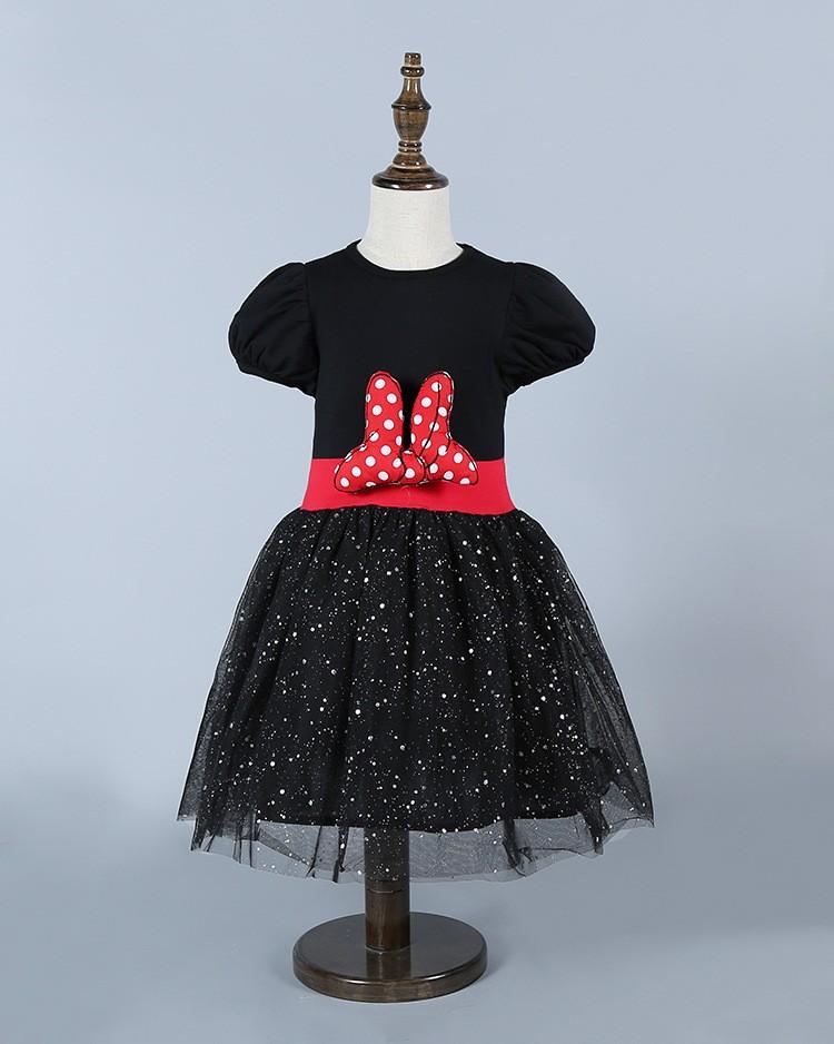 HTB1QrjkLpXXXXXHXXXXq6xXFXXXj - 2017 Summer Baby Girls Dress Minnie Mouse Dresses For Girls Princess Minnie Dress Birthday Party Children Clothes Kids Costume