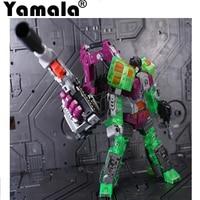 [Yamala] IN-STOCK Trasformazione Robot Ko Versione Gt Raschietto Di Devastator Coscia Destra Action Figure Giocattoli di Modello All'aperto Sulla Spiaggia