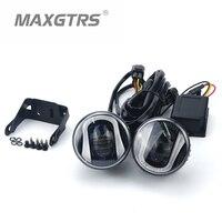 2x 2.5 3.5 Inch With CREE LED Chips Car Fog Light Lamp DRL Driving Bulb for Ford Nissan Honda Mitsubishi Toyota Lexus Suzuki