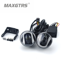 2x 2 5 3 5 Inch With CREE LED Chips Fog Light DRL Daytime Running Bulb