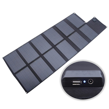 Xionel 120Watt Foldable Fabric Photo voltaic Panels Photo voltaic Powered Charger for Laptop computer/Laptop/12V RV/Caravan/Automobile/Boat Battery