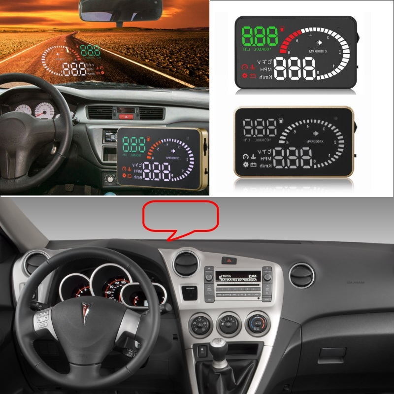 Liislee Car HUD Head Up Display For Pontiac Vibe Firebird Solstice GTO G6 G8 - Safe Screen Projector / OBD II Connector liislee car hud head up display for subaru forester xu impreza legacy outback safe screen projector obd ii connector