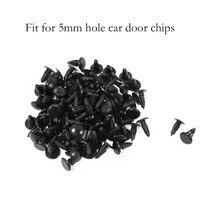 ZYHW Marka 100 Adet Oto Araba kapısı klipleri 5mm Delik plastik Bağlantı Elemanları