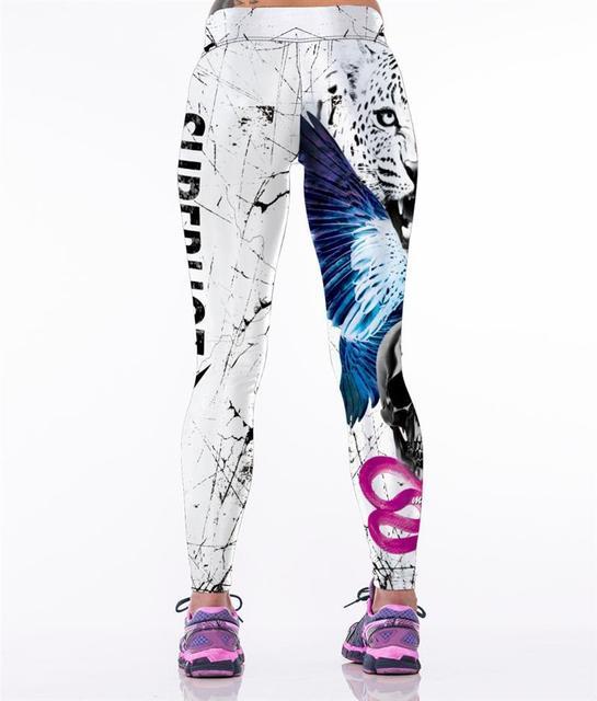 Sexy Mujer Entrenamiento entrenamiento Jegging leggins Leggings cintura alta Elástica leggings