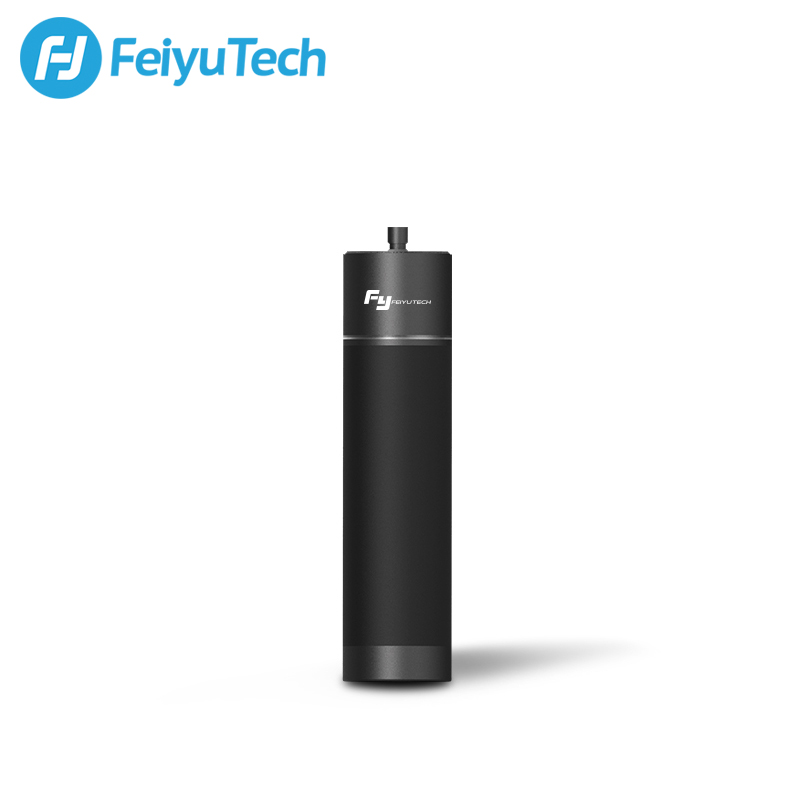 FeiyuTech Handle Power Bank with Two 1/4 Inch Screw Ports for G6 G5 WG2 SPG G5GS Vimble 2 Gimbal Action Camera Charge when shoot