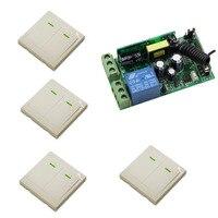 AC 85V 110V 125V 220V 240V 250V Wireless Remote Switch System Radio Switch Relay Receiver 86