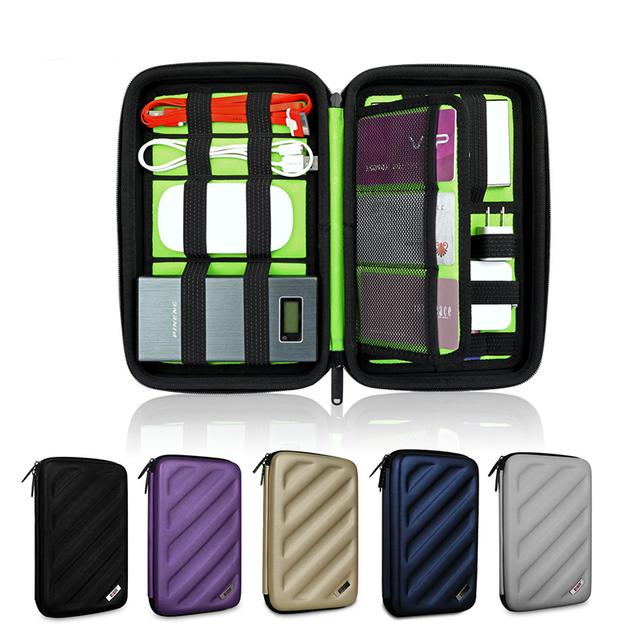 BUBM Portable Travel Organizer digital receiving bag for card SD membory card