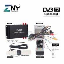 Автомобиль DVB-T2 DVB-T MPEG4 цифровой ТВ коробка 4 Seg Поддержка 180-200 км/ч Скорость вождения Цифровой автомобиль ТВ тюнер HD 1080 P ТВ приемник