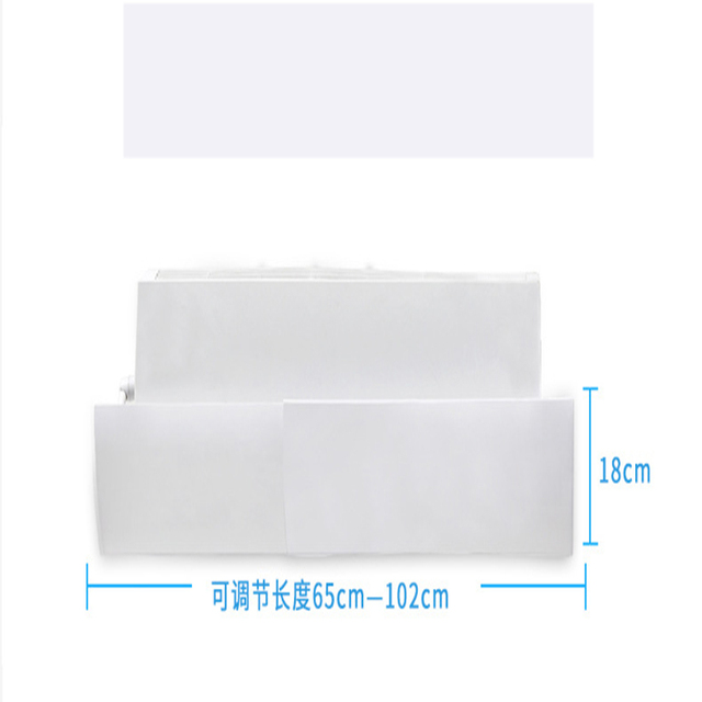 Home Air Conditioning Adjustable Windshield Baffle Shield Wind Guide Month Straight Prevent Direct Blow Bedroom Wind Shroud
