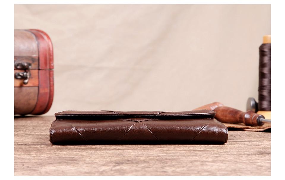 محفظة جلدية فاخرة للنساء 7