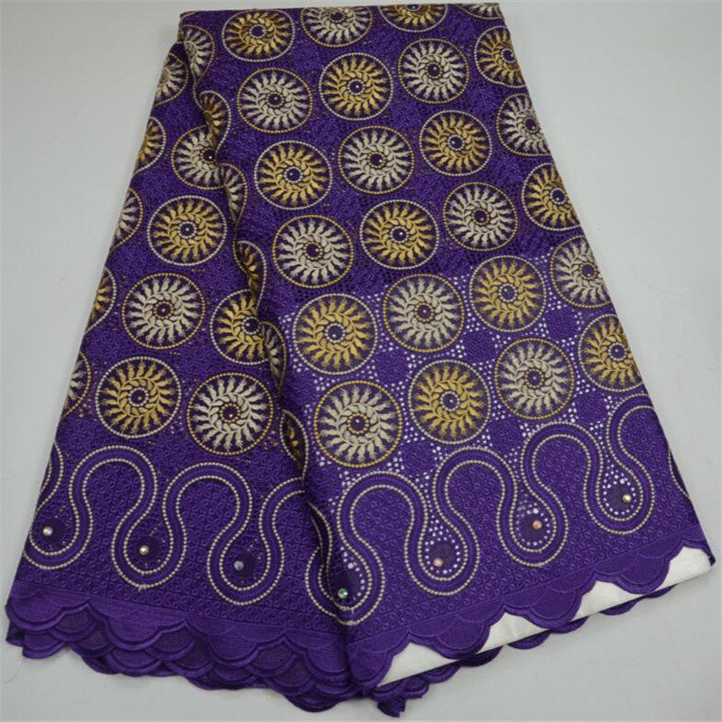 Purple High Quality Swiss Voile Lace 2018 African Voile Swiss Lace Fabric African Swiss Cotton Voile Lace Fabric For Clothes 30Purple High Quality Swiss Voile Lace 2018 African Voile Swiss Lace Fabric African Swiss Cotton Voile Lace Fabric For Clothes 30