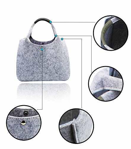 52ed603881e5 ... 2018 Фирменная Новинка Дизайнер фетр для женщин сумка, повседневное  магазин сумки на плечо, качество ...