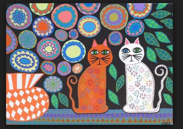 US $79 0  Aliexpress com : Buy Modern rich color painting is a special  local arts style about Mexican Folk Art from Reliable mexican art suppliers  on