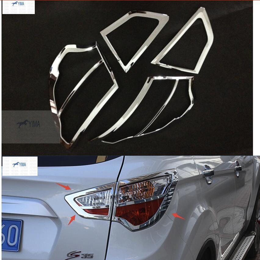 Accessoires pour Changan cs35 2013-2017 ABS couvercle de cadre de feu arrière moulure de garnissage garniture