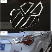 Accessories For Changan cs35 2013 2017 ABS Rear Tail Lamp Light Frame Cover Trim Molding Garnish