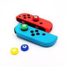 Thumb Stick-Tapas de silicona para mando de Nintendo Switch NS, 1 unidad, cubierta para Joy-Con