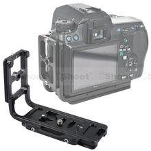 Atire Vertical Quick Release Placa L Bracket para Pentax K7 K5 KX KR K01 K30 K50 K20D K10D K200D K100D