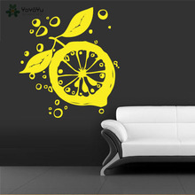 YOYOYU Wall Decal Vinyl Sticker Art Vegetable Lemon Room Decoration Removebale Mural Poster YO507