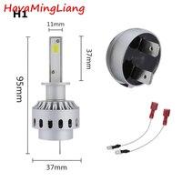 Automobile 1Pair LED Car Headlight COB Chips H1 9005 9006 45W Car Styling Auto Led Bulb