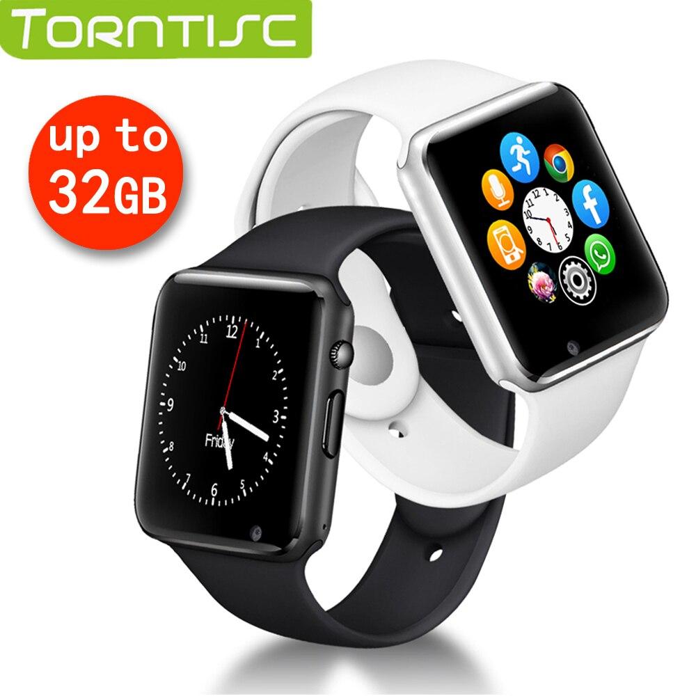 Torntisc A1 1,54 Zoll Smart Uhr Für Android Ios Telefon Unterstützung Tf-karte Bis Zu 32 Gb 2g Sim 0.3mp Kamera Bluetooth Smartwatch Männer Verkaufspreis Smart Watches